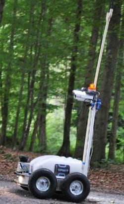 Mobilny robot RI A-BOT. Źródło; Robotics Inventions