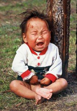 Dziecko mongolskie