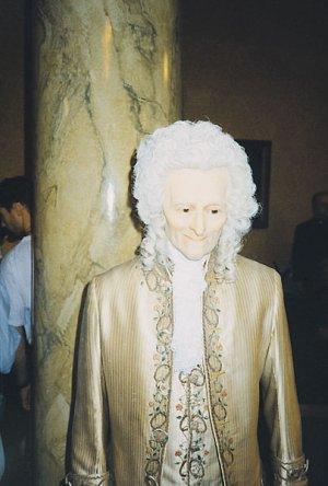 Wolter z Muzeum Madame Tussaud w Londynie