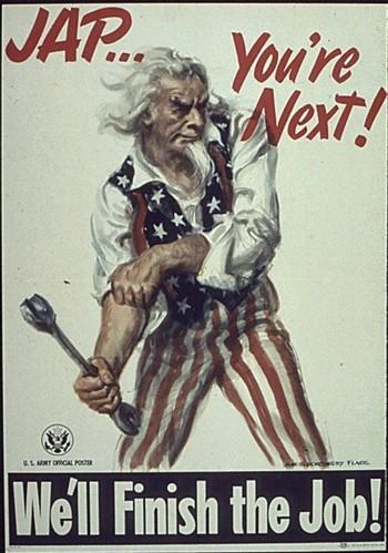 Oficjalny plakat propagandowy z okresu II wojny światowej