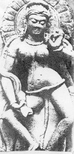 Indyjska Bogini zwężami