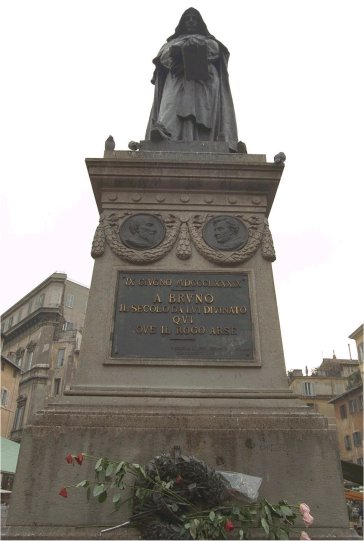 Płomienna Nauczka Rzecz O Giordano Bruno Racjonalista