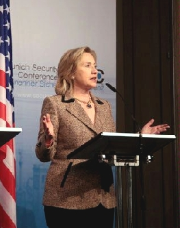 Clinton w Berlinie