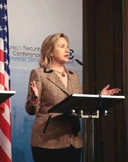 Clinton wBerlinie