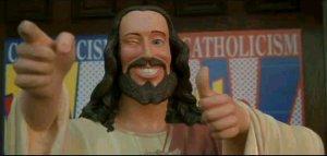 Koleżka-Jezus. Grzech — bo Jezus się nie uśmiechał...