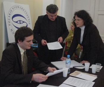 Mariusz Agnosiewicz, Marek Pawłowski oraz Nina Sankari