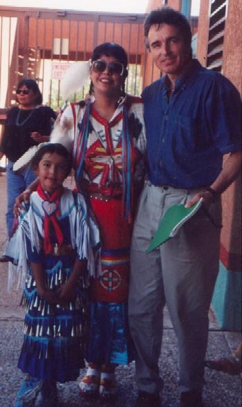 Indianki ze szczepu Kiowa i Kaz Dziamka, Albuquerque