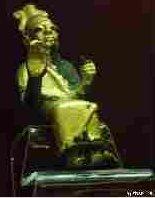 Metalowa statuetka Ela
