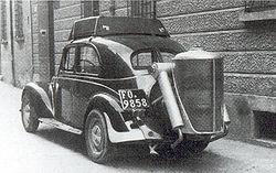 Samochód z instalacją na drewno, Wikipedia