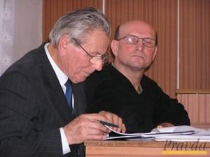 Michal Holováč wraz ze swoim pełnomocnikiem