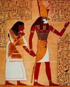 Horus, Księga umarłych