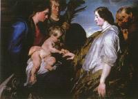 Anthony Van Dyck, Mistyczne Zaślubiny św. Katarzyny