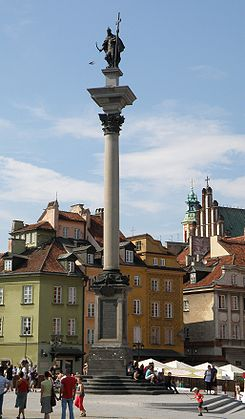 Sigismund III Column in Castle Square in Warsaw is one of the most emblematic monuments of the capital city. The king of the big cross and the sword well reflect the policy of the monarch