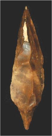 Obok hematytu krzemień czekoladowy był jednym znajważniejszych produktów naszej prahistorii