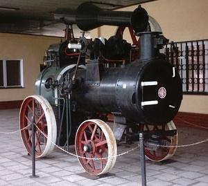 Lokomobila Cegielskiego. Fot. Wikimedia