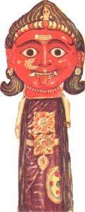 Indyjska maska kapłańska