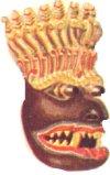 Maska singalezyjska