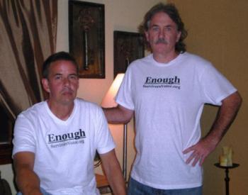 Założyciele stowarzyszenia Survivor's Voice — Bernie McDaid i Gary Bergeron