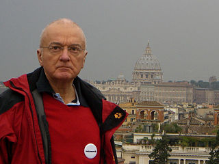 Norbert Denef w Watykanie, 2010. Wikimedia