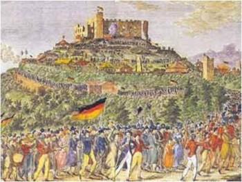 Obchody jednego ze świąt w Niemczech — 1832 r.