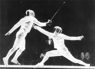 (R) Jerzy Pawlowski, 1971 Vienna Fencing World Championships