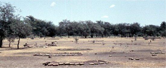 Cmentarz w Sudanie (El Messalamiya)