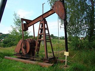 Kiwon pompowy ze Skansenu Przemysłu Naftowego w Gorlicach, fot. Jacek Gal