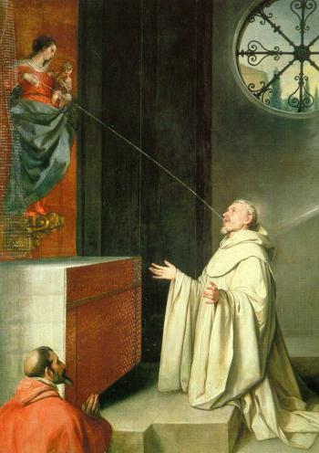 Alonso Cano, Cud laktacyjny św. Bernarda