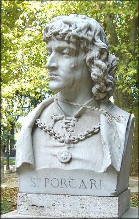 Pomnik Porcari przy via Ippocastani w Rzymie