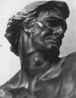 Popiersie Dawida, fragment, 1914