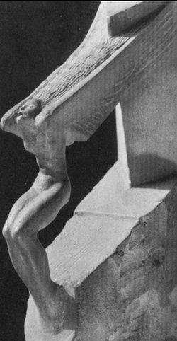 Zamarznięta młodość, wersja pierwsza, w kamieniu, 1920