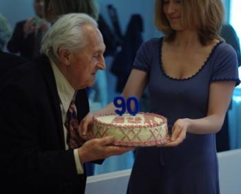 Tort urodzinowy PSRu dla Andrzeja Nowickiego