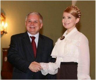 Julia Tymoszenko wPolsce wroku 2008