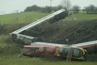 Wykolejenie Pendolino w Grayrigg w Anglii z 23 lutego 2007