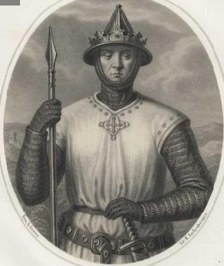 Bolesław Wstydliwy z oryginalnej koronie — twórca Krakowa i nowego państwa