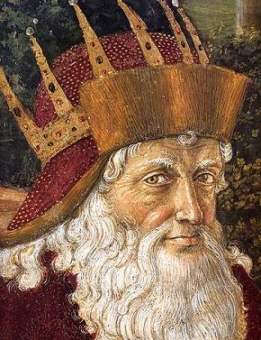 Zygmunt Luksemburski z florenckiego fresku